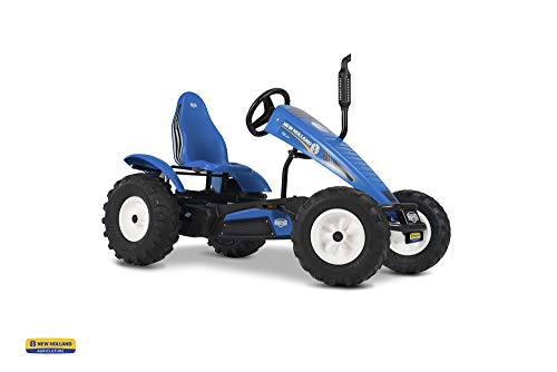 Best Price Berg New Holland E-BFR Kids 24V Electric Battery Pedal Car Go Kart Blue 6+ Years