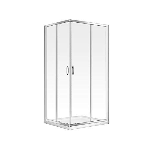 Home Deluxe - Duschkabine - Andiamo V2 - Maße: 90 x 90 cm - 6 mm ESG - inkl. komplettem Zubehör
