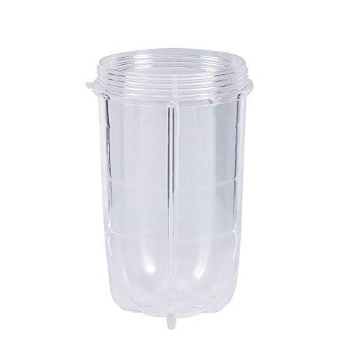 Entsafter-Tasse - VIFER Kunststoff Transparente Entsafter-Tasse Becher Mixer Entsafter Ersatzteile Hohe Tasse/Kurze Tasse 1PC(Tall cup)