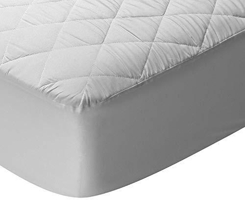 ZORBA Protector de colchón/Cubre colchón Acolchado, Impermeable, antiácaros. (135x190/200cm)