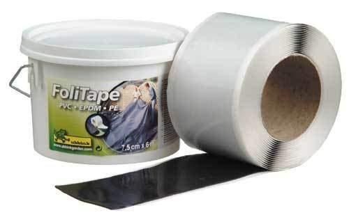 Vijverfolie-tape, 6m x 7,5cm