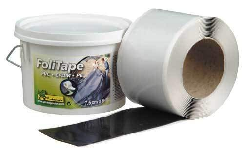 Pleatco BioPure 2000 Basic Teichfolie-Klebeband, 6m x 7,5cm, bunt