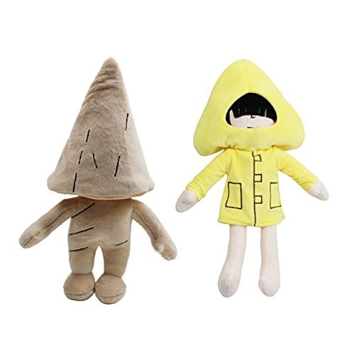 JINGZHONG 30cm pequeñas pesadillas Juguete de Peluche Juego de Aventuras Dibujos Animados Lindos muñecos de Peluche Kawaii Juguetes de Regalo para niñas colección de Fans para niños
