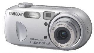 Sony CYBERSHOT DSC P 73S - Cámara Digital Compacta 4 MP