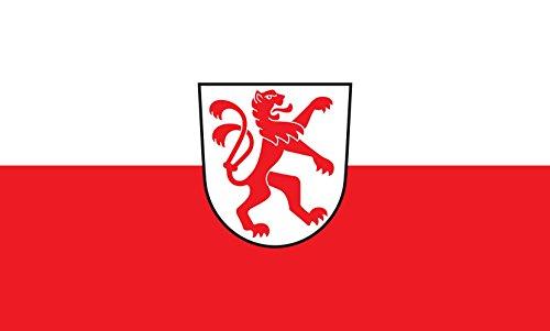 Unbekannt magFlags Tisch-Fahne/Tisch-Flagge: Bad Schussenried 15x25cm inkl. Tisch-Ständer