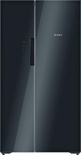 Bosch KAN92LB35 Serie 8 Amerikanischer Side-by-Side / A++ / 175,6 x 91,2 cm / 385 kWh/Jahr / Schwarz / 375 L Kühlteil / 217 L Gefrierteil / NoFrost / VitaFresh plus