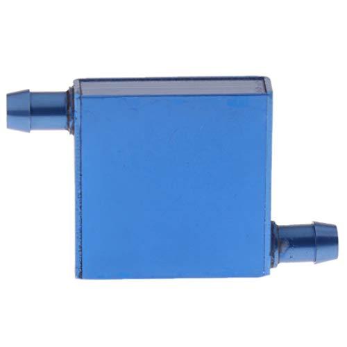 IPOTCH Le Refroidisseur d'eau en Aluminium Bloque Le Radiateur Liquide de Radiateur de Processeur 40x40mm T4040B