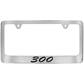 Chrysler Logo 300 License Plate Frame Eurosport Daytona 6486DL