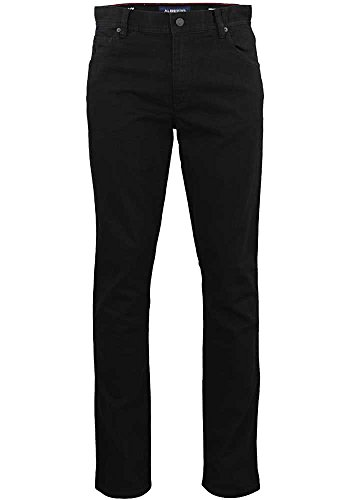 ALBERTO Modern Fit Jeans STONE T400 schwarz