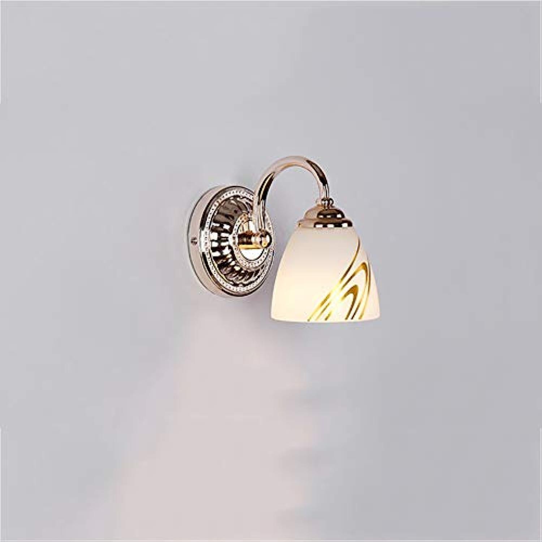 Spiegel Lampen Spiegel Vordere Scheinwerfer, LED-Leuchten einfach Wandleuchte Badezimmer Spiegelschrank Beleuchtung wasserfestes Make-up, ein Paar Kopf, weies Badezimmer leuchten (Farbe  Ei