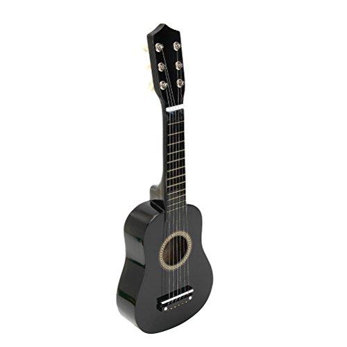 TOYMYTOY Kindergitarre tragbare 21 Zoll Akustikgitarre für Kinder Anfänger (schwarz)