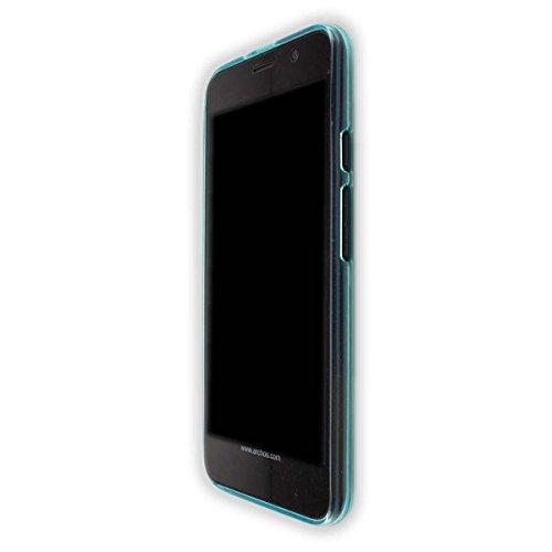 caseroxx TPU-Hülle für Archos Access 55, Handy Hülle Tasche (TPU-Hülle in hellblau)