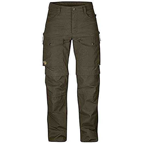 FJÄLLRÄVEN Gaiter Trousers No. 1 W Pantalon de Sport Femme, Dark Olive, FR : L (Taille Fabricant : 40)