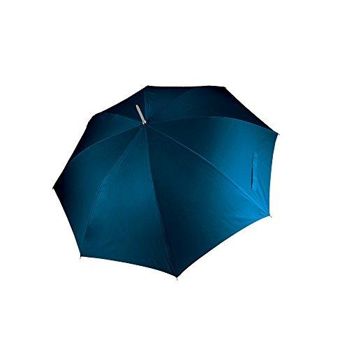 KiMood - Paraguas para golf apertura automática unisex (Paquete de 2) (Talla Única) (Azul marino)