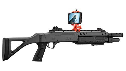 FABARM Airsoft-Fusil à Billes à Pompe STF 12 à Ressort avec Mode virtuel Réalité augmentée-rechargement Manuel-Puissance: 0,5 Joule