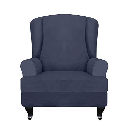 Goliraya Funda de sofá elástica para sillón reclinable y protector de muebles, suave con tela elástica