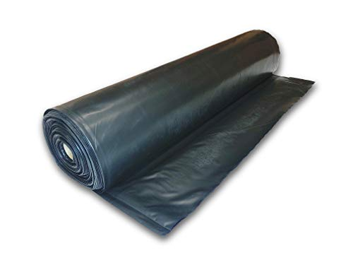 Farm Plastic Supply 4 mil Black sheeting in Various Sizes (3' x 200')