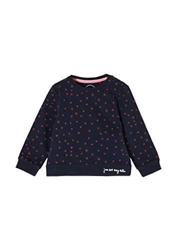 s.Oliver Junior Baby-Mädchen 405.10.011.14.140.2054692 Sweatshirt, 59A9, 86