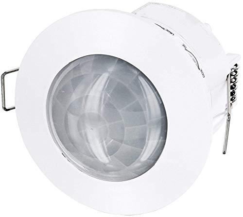 Inbouw IR bewegingsmelder 360 ° - plafondmontage - geschikt voor LED - 1200W 230V