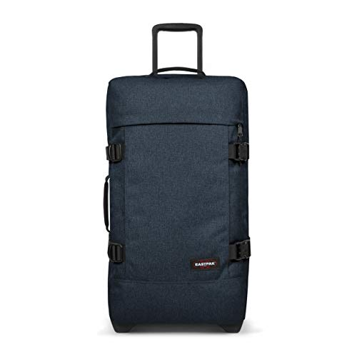 Eastpak Tranverz M Suitcase, 67 cm, 78 L, Blue (Triple Denim)