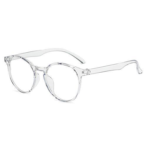 Bias&Belief Gafas de Bloqueo de luz Azul Gafas para Juegos de computadora Marco de anteojos de Arte de Arte Retro Gafas Anti-Fatiga Ocular para Mujeres y Hombres,C