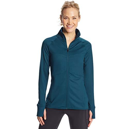 C9 Champion Women's Full Zip Cardio Jacket, Jetson Blue, Medium