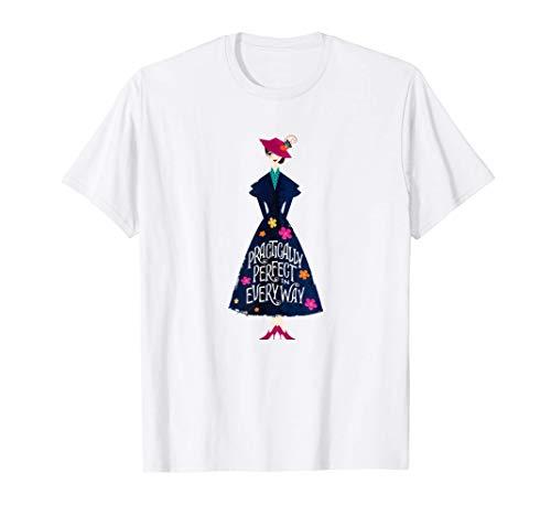 Disney Mary Poppins Returns Practically Perfect Maglietta