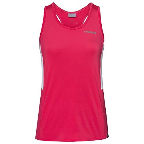 HEAD Mädchen Club Tank Top G T-Shirts, Magenta, 152