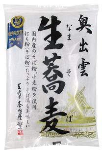 奥出雲生蕎麦200g(100g 2食入)×5個          JAN:4977309028775