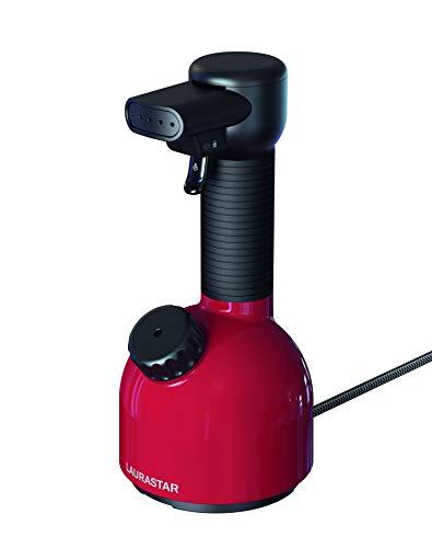 Laurastar(ローラスター) 加圧式除菌脱臭スチーマー[高圧スチーム/ウール、カシミヤ、シルク、レーヨン対応/コンパクト/ハンディタイプ] IGGI レッド