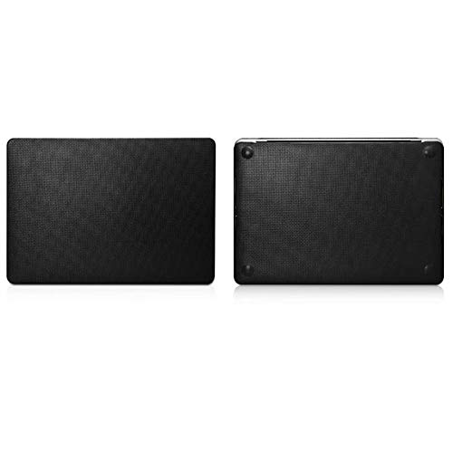 RZL PAD & TAB cases For Macbook Pro 13 2020 15 A2289 A2251, New Touch Bar Cover Luxury Genuine Leather Laptop Case for MacBook Pro 16 A2141 2020 (Color : Black, Size : For Macbook 15 Pro)