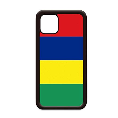 Mauritius Nationale Vlag Afrika Land voor Apple iPhone 11 Pro Max Cover Apple mobiele telefoonhoesje Shell, for iPhone11 Pro Max