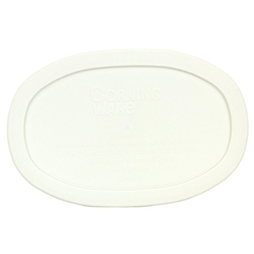 Corningware F-15-PC Oval French White 15-ounce Plastic Cover
