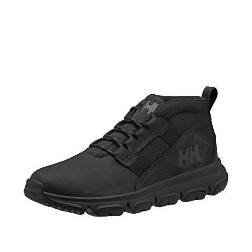 Helly Hansen Mens Jaythen X2 Waterproof Leather Demi-Cut Hiking Boot, 991 Triple Black, 9.5