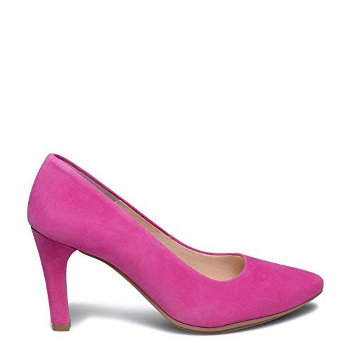 Zapatos miMaO. Zapatos de Piel Hechos EN ESPAÑA. Zapato Tacón Aguja. Zapato Tacón Fino Cómodo Mujer Plantilla Gota Ultra Confort Gel