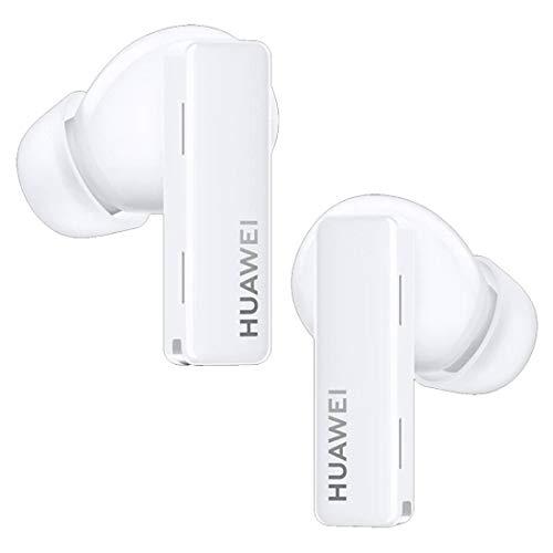 HUAWEI FreeBuds Pro Negro - Auriculares inalámbricos Bluetooth con cancelación inteligente de ruido, sistema de 3 micrófonos, carga inalámbrica rápida, Negro