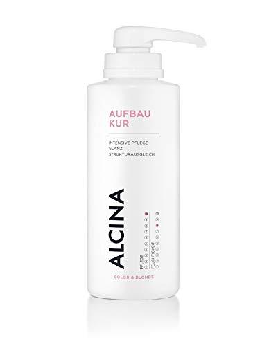 ALCINA Aufbau-Kur - Intensive Pflege für coloriertes, blondiertes, gesträhntes oder umgeformtes Haar - 1 x 500 ml