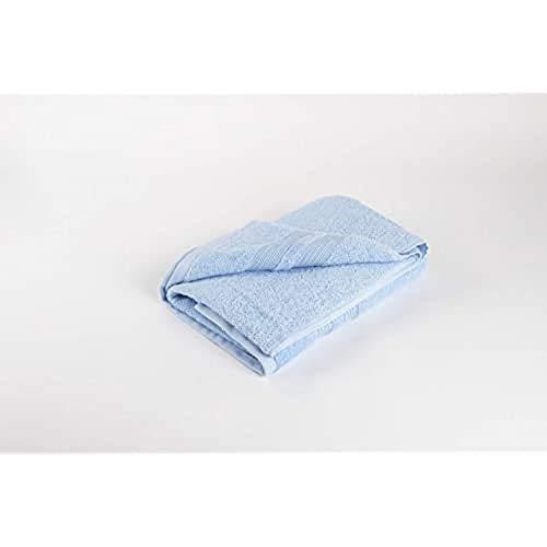 Homelab Toalla, 100% Algodón, Azul, 50 x 100