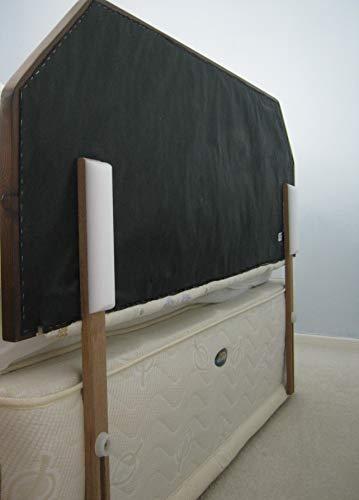 Evita que el cabecero de tu cama se golpee contra la pared