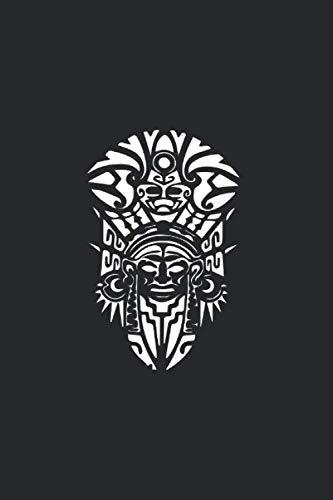 Maori Tattoo Polinesisch: Notizbuch (15,24cm x 22,86cm) 120 Seiten Kariert (4x4)