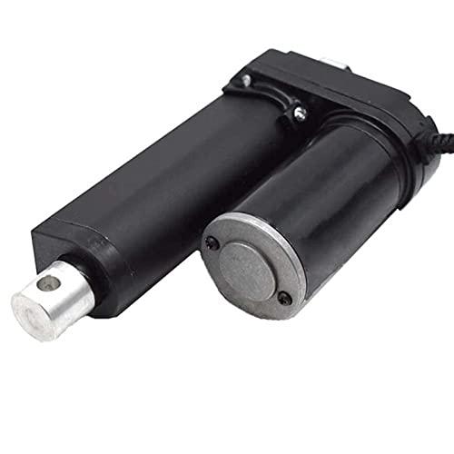 Pangyoo PYouo-actuador Lineal Accionador Lineal de Servicio Pesado de Carrera Ajustable,actuador Lineal eléctrico,12V/24V 200 mm 3500n /770 lbs de Carga para Puerta o Cama