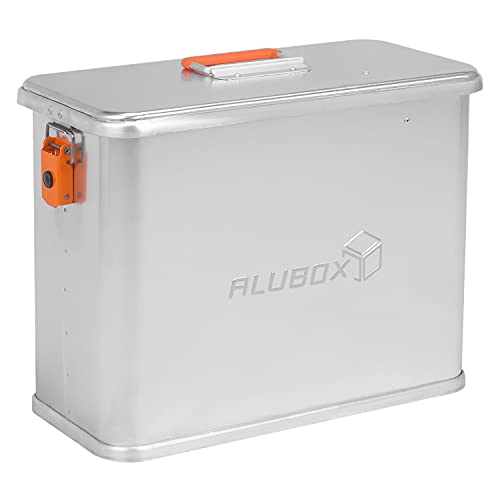 ALUBOX Motorrad Seitenkoffer ABX-M32-32 Liter, Aluminium