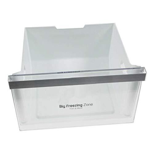 Cajón central intermedio de congelador LG Original, listado de modelos compatibles en descripción