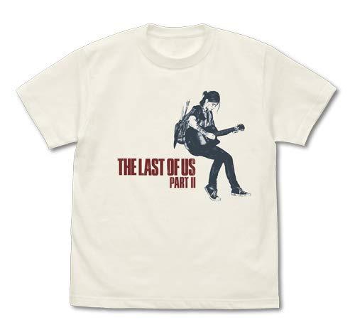 The Last of Us Part II エリーとギター Tシャツ/VANILLA WHITE−L