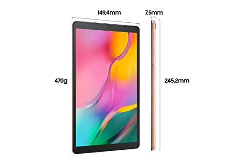 Samsung Galaxy Tab A T510N 25, 54 cm (10, 1 Zoll) Tablet-PC (1, 8 GHz Octa-Core, 3 GB RAM, 64 GB eMMC, Android 9.0) Gold