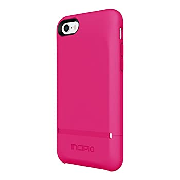 Incipio Stashback iPhone 8 & iPhone 7 Case with Credit Card Slot Holder and Foldable Back Panel for iPhone 8 & iPhone 7 - Berry Pink