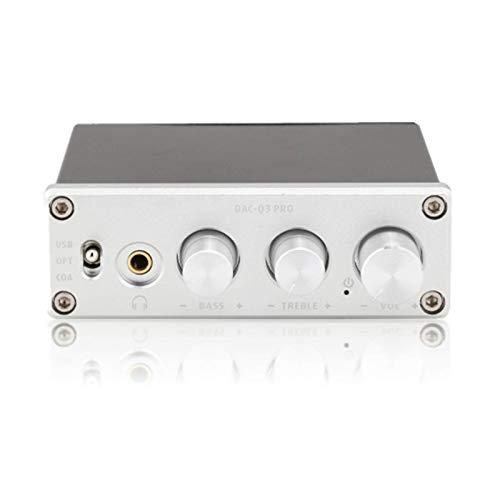 Sutinna Decodificador de Audio Digital, AC-Q3 Pro Decodificación DAC Decodificador de Audio...