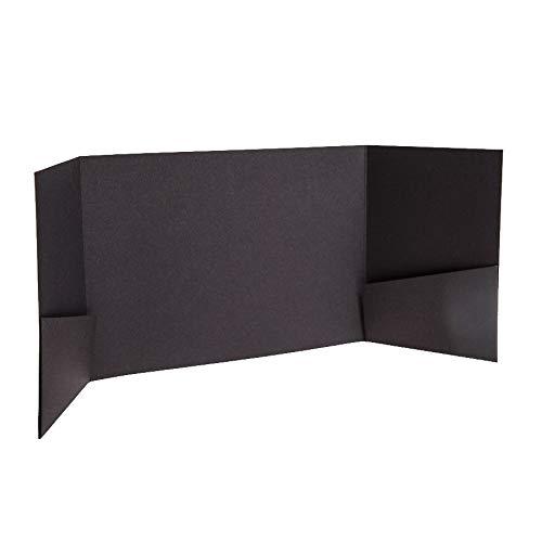 Noir mat faire-part invitations 130 Mmx185 mm à partir de faire-part invitations Ltd Noir