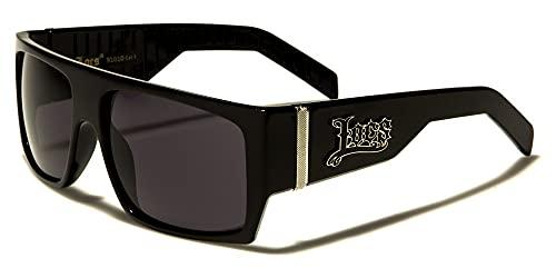 Locs 8LOC91010 Sonnenbrille Hypster Urban Poker Rapper, Mode für Damen und Herren