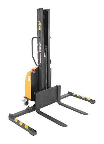Vestil SLNM-63-AA Stacker Power Lift Adjustable Fork, 1000 lb. Capacity, 65.5